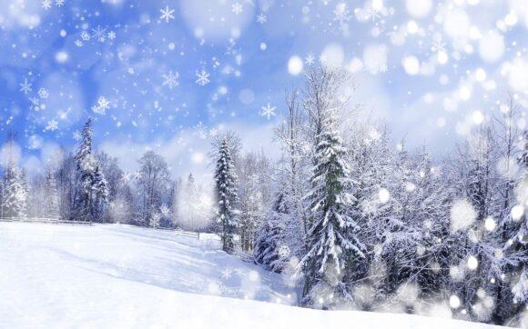 hình ảnh nền tuyết rơi tuyệt đẹp cho mùa đông