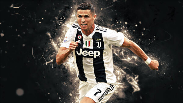 Hình ảnh Ronaldo của sự nỗ lực