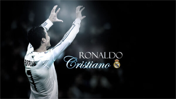 Hình ảnh Ronaldo với Real đẹp