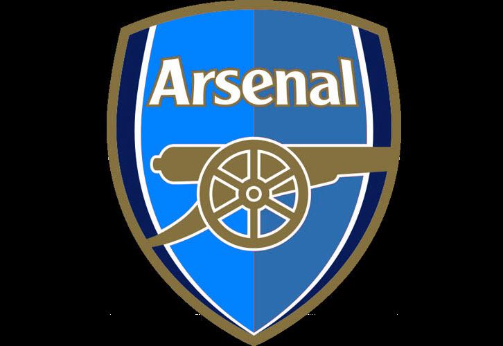 Hình logo Arsenal xanh