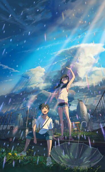 hình nền anime 4k cặp đôi cho điện thoại