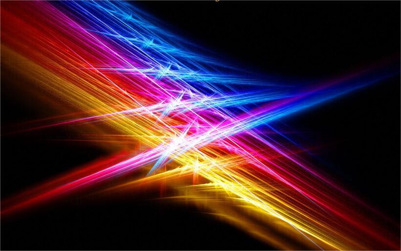 hình nền background ánh sáng giao thoa nhiều màu sắc