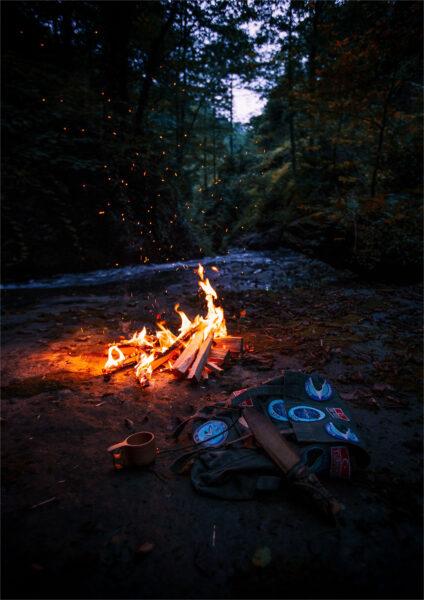 Hình nền background ngọn lửa đẹp 4K