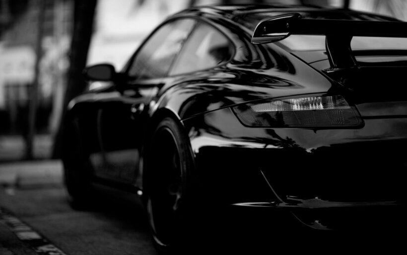Hình nền đen siêu xe