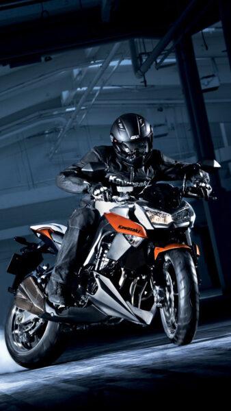 hình nền điện thoại xem moto Kawasaki