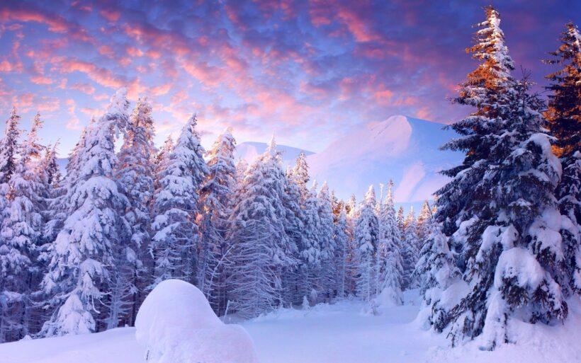 hình nền laptop full-Hd thiên nhiên núi tuyết cực đẹp