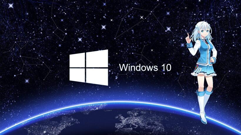 Hình nền laptop windows 10 anime cực đẹp