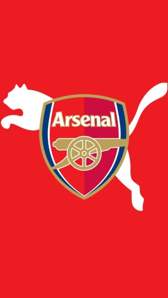 Hình nền logo Arsenal cho điện thoại
