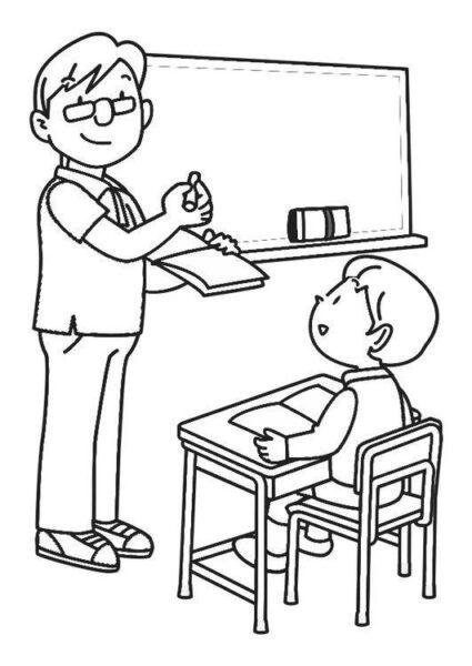 Hình tô màu chủ đề nghề nghiệp cho bé tập tô (6)