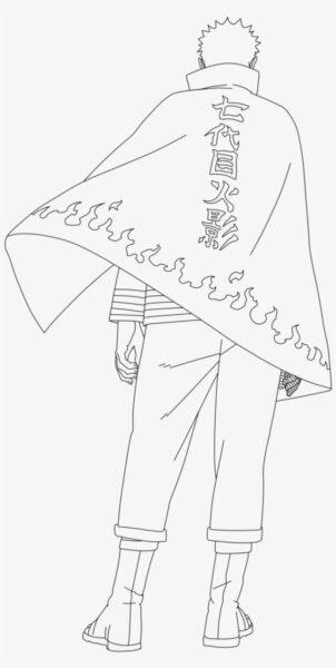 Hình tô màu Naruto ngầu nhất cho bé tập tô (8)