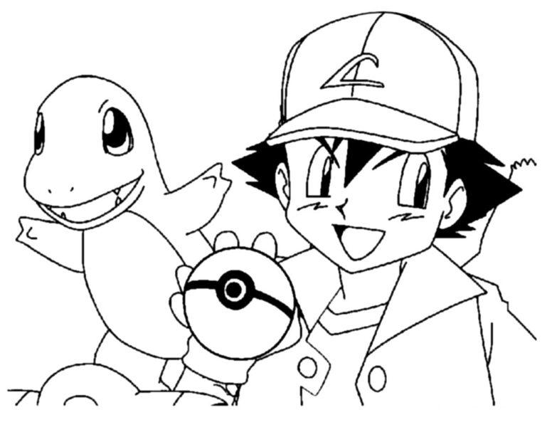 Hình tô màu Pokemon cho bé tập tô (6)