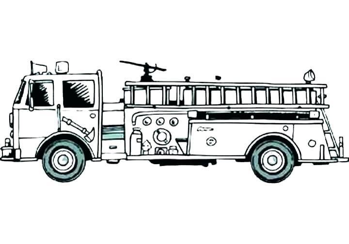 Hình tô màu xe cứu hảo cho bé tập tô (3)