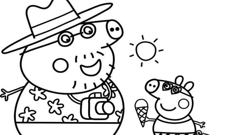 Best of How to Draw Peppa Pig Princess Coloring Pages for Kids a