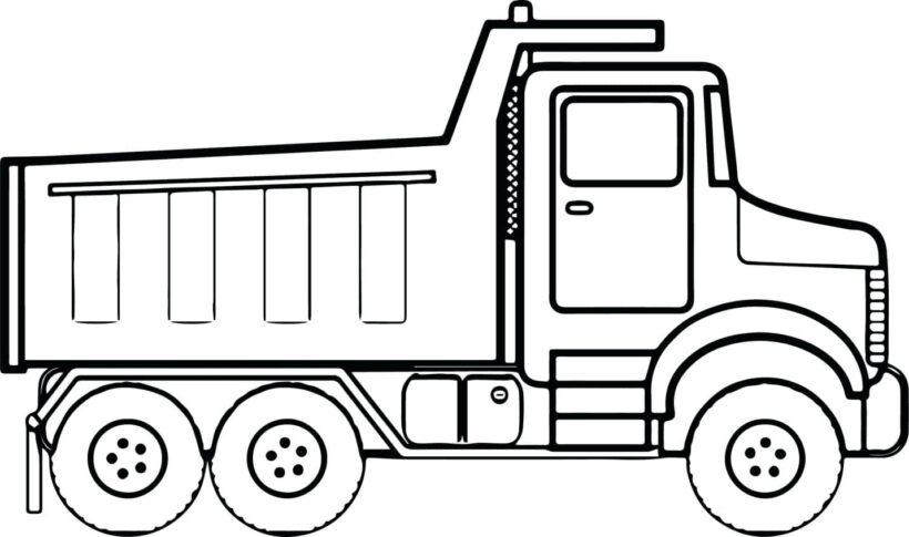 Hình vẽ chưa tô màu phương tiện giao thông đẹp nhất cho bé tập tô (2)