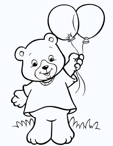 Hình vẽ đen trắng cho bé 3 tuổi tô màu (5)
