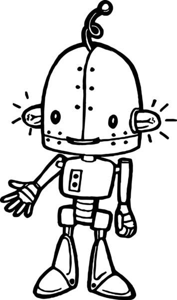 Robot Coloring Lego Pages Color Zini Grig3 Wonderful robot coloring pages