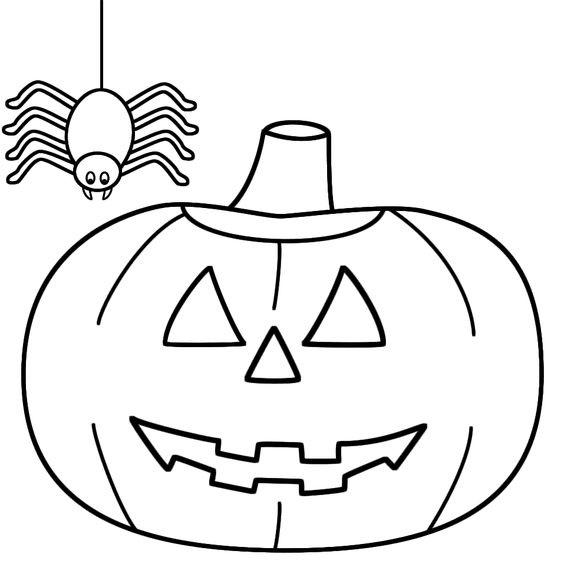 Hình vẽ Halloween đơn giản