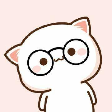 icon học giả đeo kính cute
