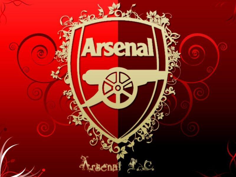 logo Arsenal hoa văn