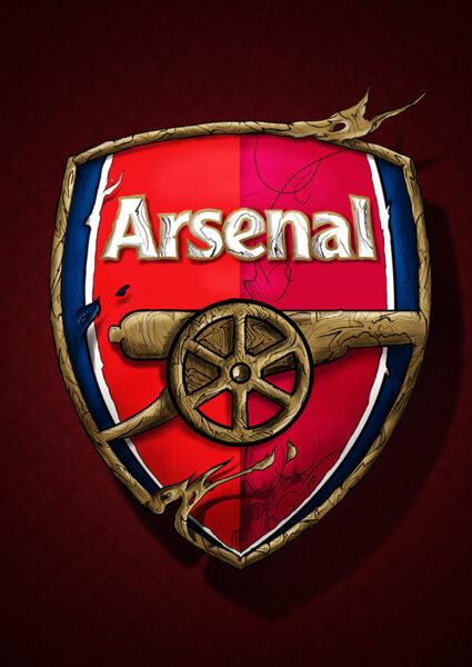 logo Arsenal phong cách cướp biển