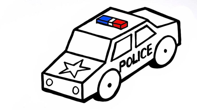 Màu xe cảnh sát