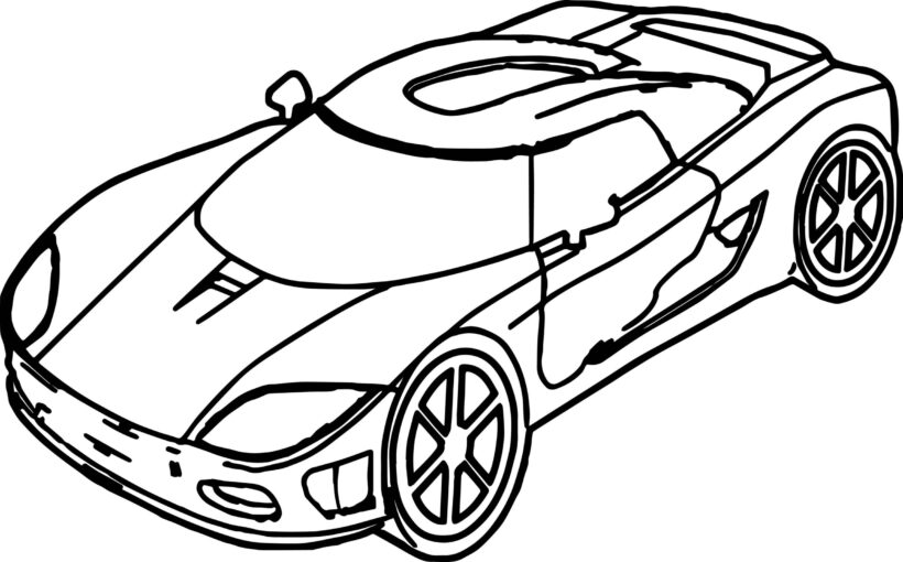 Những tranh tô màu phương tiện giao thông ngộ nghĩnh cho bé tập tô (7)