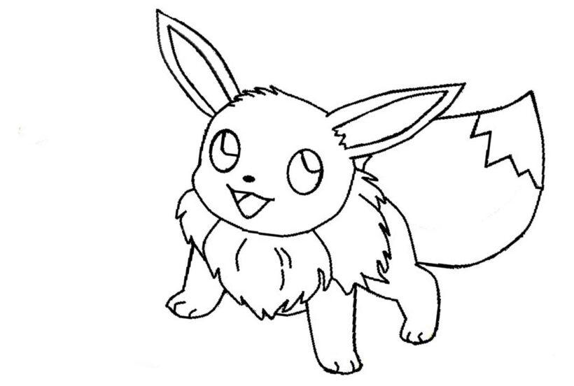 Những tranh tô màu Pokemon cho bé tập tô (2)