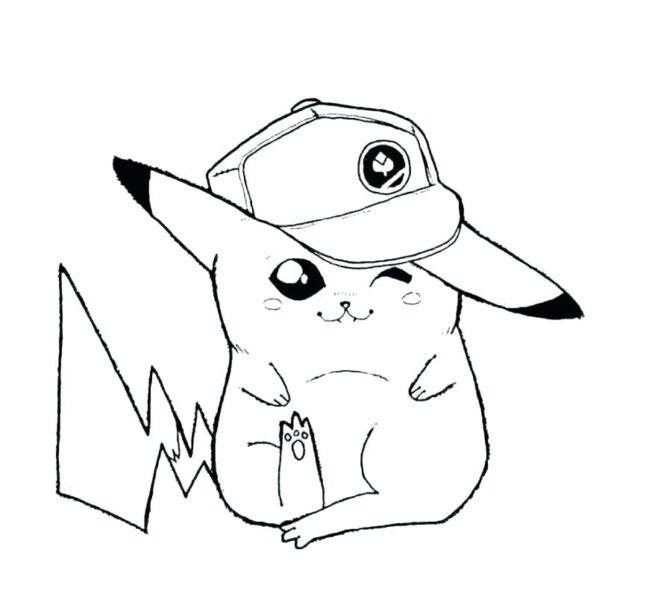 Những tranh tô màu Pokemon cho bé tập tô (4)