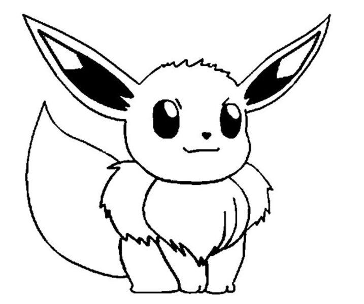 Những tranh tô màu Pokemon cho bé tập tô (5)
