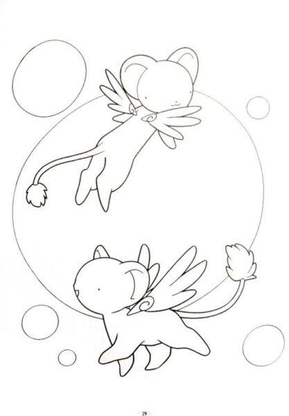 Những tranh tô màu Sakura đẹp nhất cho bé tập tô (4)