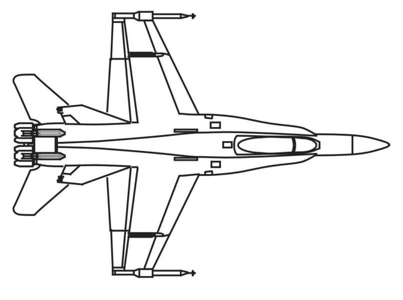 Tô màu máy bay chiến đấu