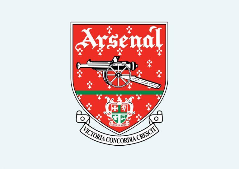 tổng hợp logo pháo thủ Arsenal cực đẹp