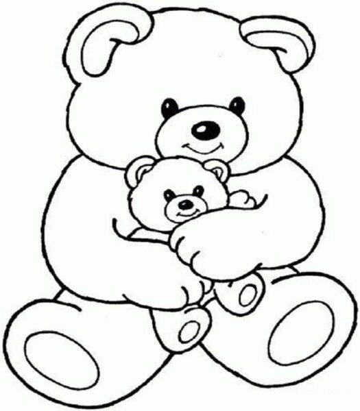 Tranh con gấu