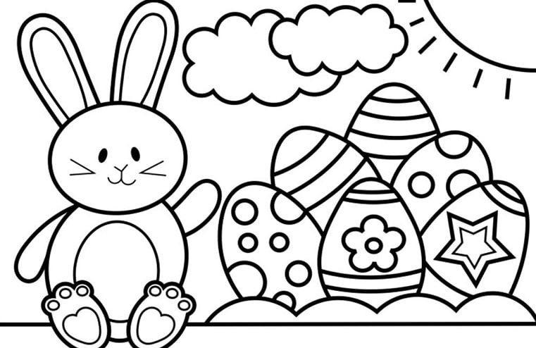 Tranh tô màu cho bé 4 tuổi PDF