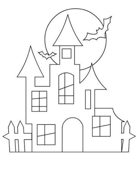 Tranh tô màu halloween hấp dẫn cho bé tập tô (12)
