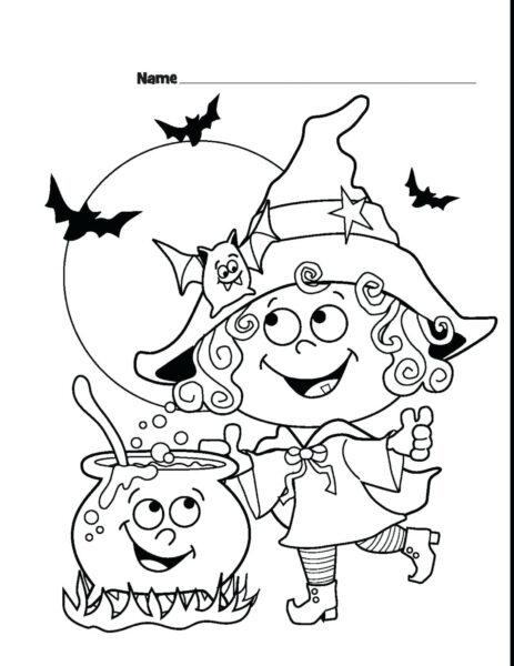 Tranh tô màu halloween hấp dẫn cho bé tập tô (32)