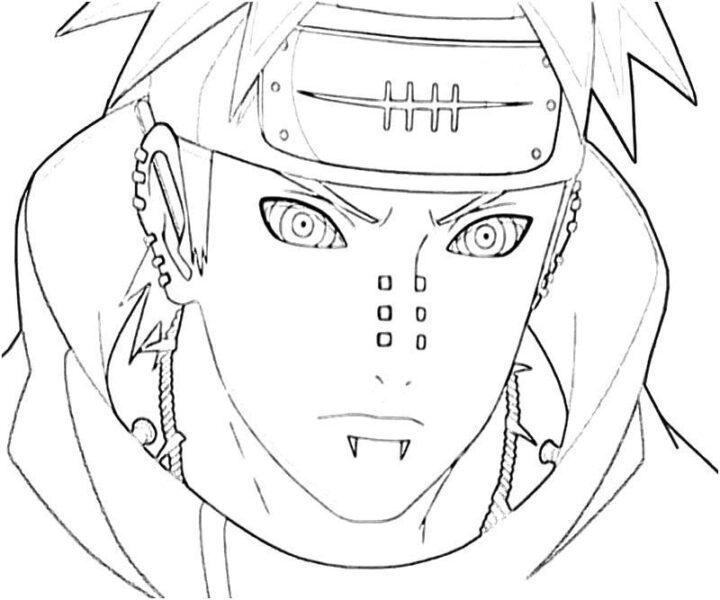 Tranh tô màu Naruto đẹp nhất cho bé tập tô (35)