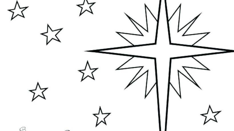 Tranh tô màu ngôi sao đẹp nhất cho bé tập tô (27)