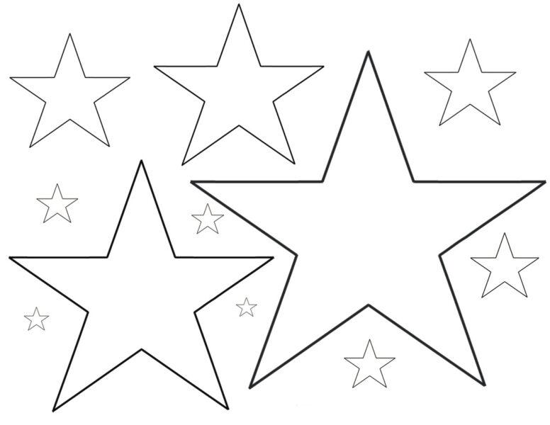 Tranh tô màu ngôi sao đẹp nhất cho bé tập tô (35)