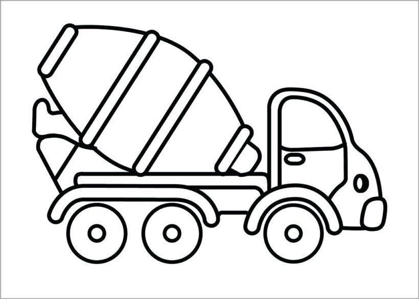 Tranh tô màu phương tiện giao thông đẹp nhất cho bé tập tô (43)