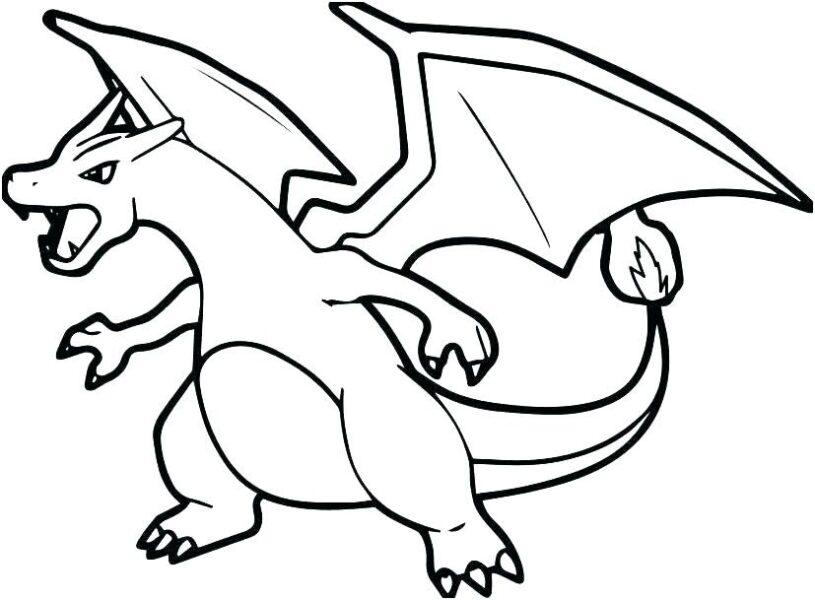 Tranh tô màu Pokemon tiến hoá