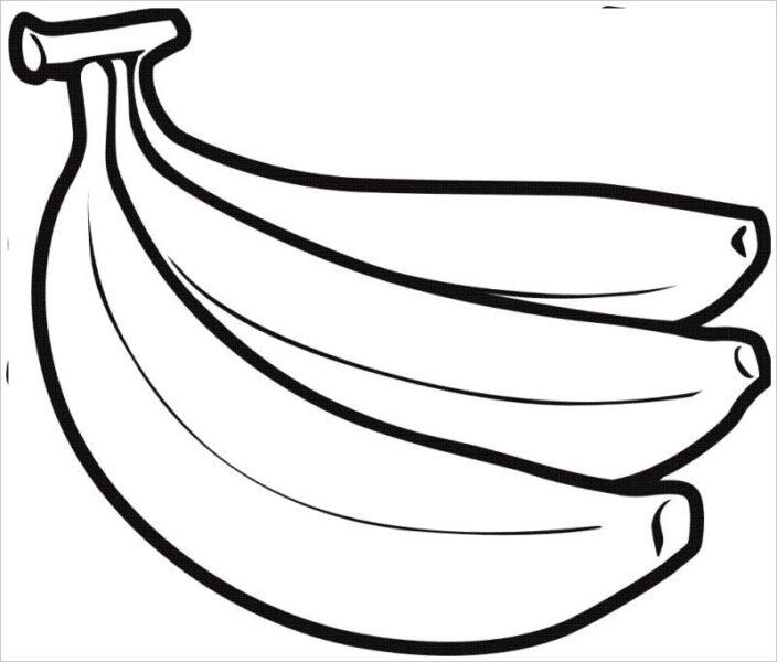 Tranh tô màu trái cây đẹp, đơn giản cho bé tập tô (7)