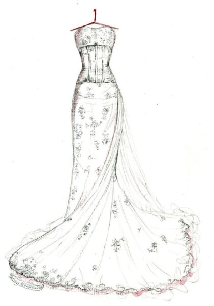 Tranh tô màu váy công chúa đẹp nhất dành tặng bé gái (15)