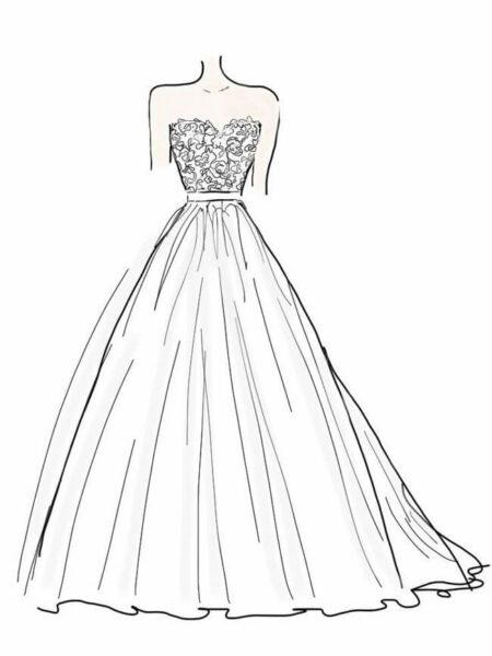 Tranh tô màu váy công chúa đẹp nhất dành tặng bé gái (20)