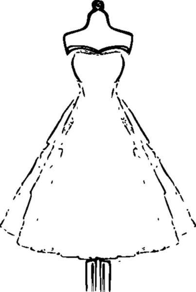 Tranh tô màu váy công chúa đẹp nhất dành tặng bé gái (24)