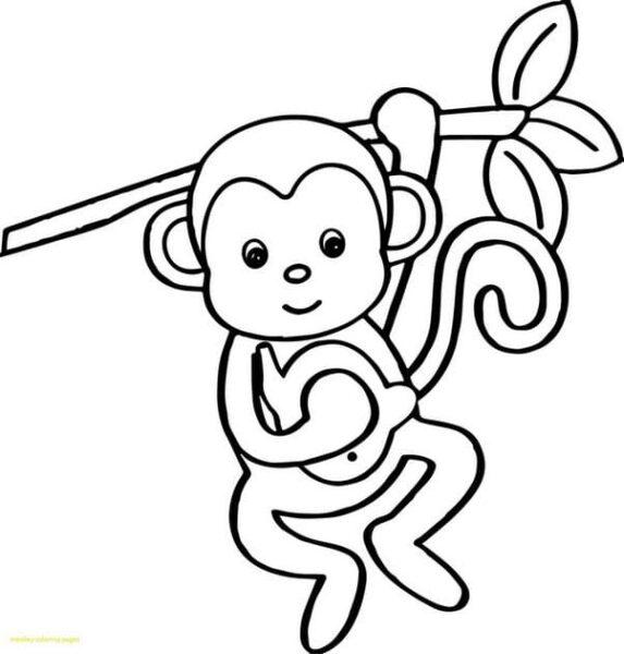Tranh vẽ chưa tô màu cho bé tập tô (4)
