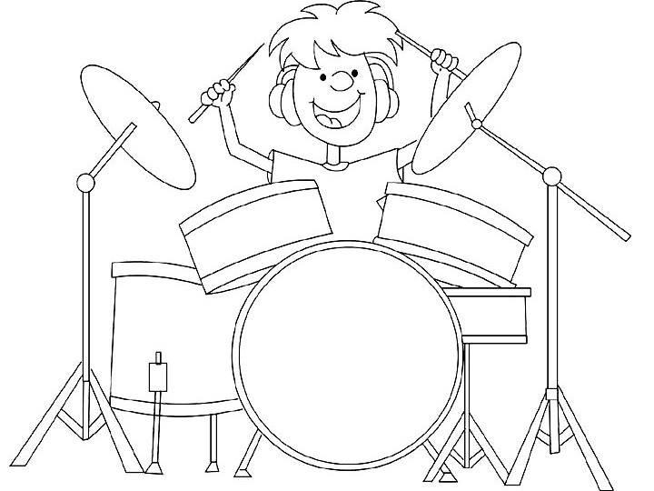 Tranh vẽ chưa tô màu chủ đề nghề nghiệp cho bé tập tô (6)