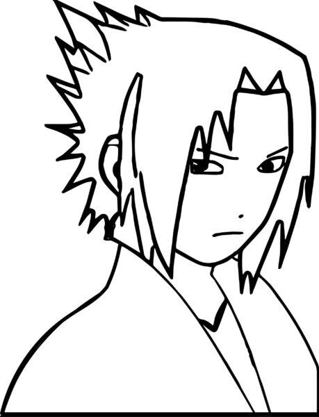 Tranh vẽ chưa tô màu Naruto cực chất cho bé tập tô (5)