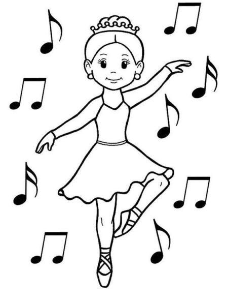 Tranh vẽ đen trắng chủ đề nghề nghiệp cho bé tập tô (2)