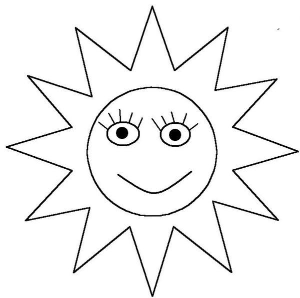 Tranh vẽ ông mặt trời